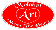 Molokai Art From The Heart Logo